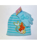 Disney The Little Mermaid Girls Hat and Glove S... - $7.99