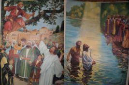 Vintage Religious Posters Church 50's 60's Jesus Bible Stories 18x24 15pcs  image 4
