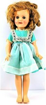 """Ideal Shirley Temple Doll 15"""" ST-15N 1950s Tagged Dress & Pin Free Shipping - $69.29"""