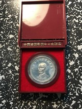 1981 Taiwan ROC 70th Anniversary Silver Medal with Original Case! #2 - $46.75