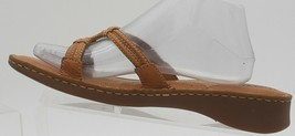 Born Sandals Elysses W1989 Carmel Brown Size 11 US 43 EUR flats Leather ... - $32.71