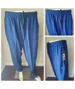 Fila Sport Trudry Marino Bay Azul Tejida Correr Pantalones de Chándal Tr... - $37.30
