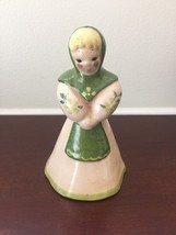 """Vintage Kay Finch Figurine Woman with Green Shaw 5"""" H - $26.17"""