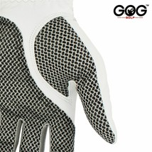 Free Shipping Genuine Leather Golf Gloves Men's Left Right Hand Soft Breathable image 2