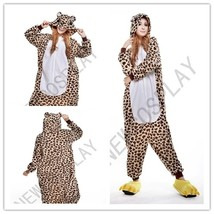 2018 New Leopard bear sleepwear  Cosplay Costume men women's Anime carto... - $71.40