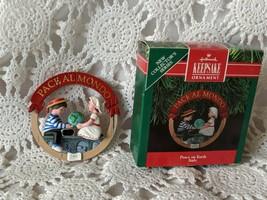 Hallmark Keepsake Ornament 1991 Peace on Earth Italy ~ Pace Al Mondo - - $7.75