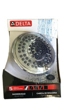 Delta Faucet 75554C 5 Setting Universal Shower Head, 1.75 Gpm, Chrome - $20.69