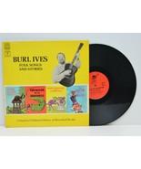 Burl Ives Folk Songs And Stories Children LP Vinyl Record 1969 Columbia - £10.86 GBP