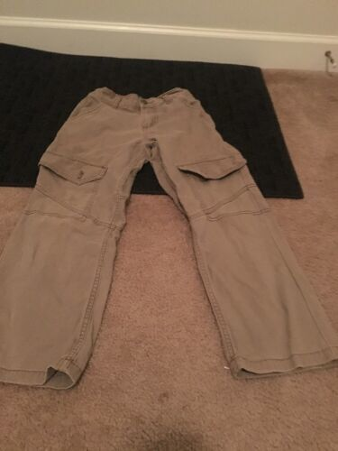 Wrangler Jeans Boys Casual Pants Brown Sz 8 Regular