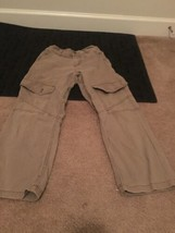 Wrangler Jeans Boys Casual Pants Brown Sz 8 Regular image 1