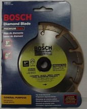 "Bosch DB561 Premium Plus 5"" Dry Cutting Laser Fusion Segmented Diamond Saw Blade - $21.78"