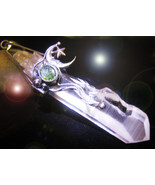HAUNTED LARGE LEMURIAN WAND NECKLACE 10 MASTER WANDS POWERS 7 SCHOLARS  ... - $307.77