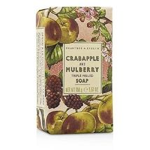 Crabtree & Evelyn Crabapple and Mulberry Triple Milled Soap Bar 5.57 oz NEW - $10.63