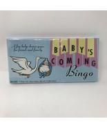 Baby's Coming Bingo Game - $5.93