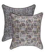 TreeWool, (Pack of 2) Foil Printed Hexagon 2-in-1 Accent Throw Pillow Co... - $19.99