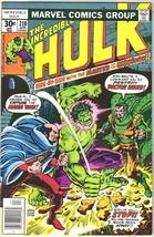 The Incredible Hulk Comic Book #210 Marvel Comics 1977 FINE+ - $3.99