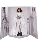 Barbie Collector - Doll Of Collection Starwars Princess Leia (Mattel GHT78) - $454.59