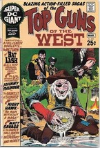 Super DC Giant Comic Book #22 Top Guns of The West DC Comics 1971 VERY FINE- - $22.17