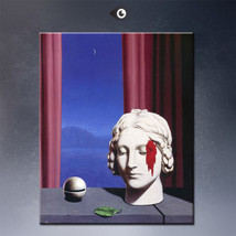 """Rene Magritte """"Memory,1948"""" HD print on canvas large wall picture 32x24"""" - $26.72"""