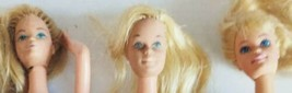 Barbie Doll Vintage Bundle Nude 1966 Mattel  Lot Of 3 2 Taiwan 1 Made In... - $14.24