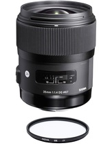 SIGMA 35MM F1.4 DG HSM ART for CANON with HOYA UX UV 67mm Filter - $851.29
