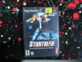 Stuntman PS2 PlayStation 2 Stunt Racing Game - $15.00