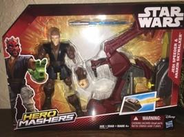 Star Wars Hero Mashers  Speeder and Anakin - $7.43