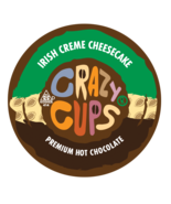 Crazy Cups Irish Creme Cheesecake Hot Chocolate 22 to 110 K cups Pick An... - $24.98