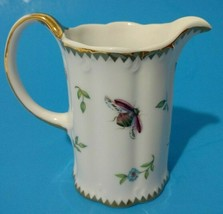 I Godinger & Co Creamer Mini Pitcher Butterfly Bee Ladybug Insects Flowe... - $23.33