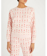 Wildfox Womens Lil Claus WCO1902E4 Sweatshirt Romantic Pink XS - $83.32