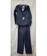 3392252 McKinley Cyclone Men's Hooded Full Zip Jacket & Pant Rain Suit N... - $13.85