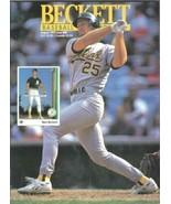 Beckett Baseball Card Monthly #89 Aug 1992 NEAR MINT NEW UNREAD - $3.50