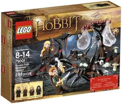 LEGO The Hobbit - Lord of the Rings Set 79001 Escape from Mirkwood Spide... - $55.55