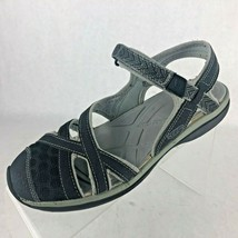 Keen Sage Ankle Strap Black Sport Closed Toe Mesh Sandal Shoes Womens Size 7.5 - $27.75
