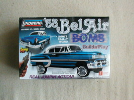 FACTORY SEALED SnapFit '53 BelAir Bomb by Lindberg #73028  Build n' Play - $108.89