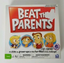Beat The Parents Board Game 2011 Spinmaster Family Kids vs Parents Game - $9.49