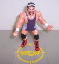 "Vintage 1990 Galoob WCW ""Rick Steiner"" 4.5"" Action Figure WWF WWE {268} - $7.85"