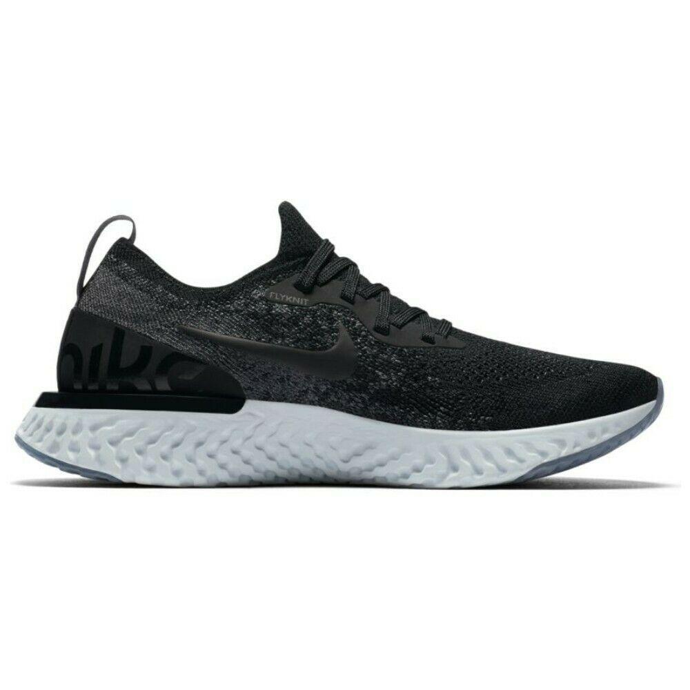 Nike Epic React Flyknit (GS) Black Dark Grey 943311 001 Youth Running Shoe Sizes