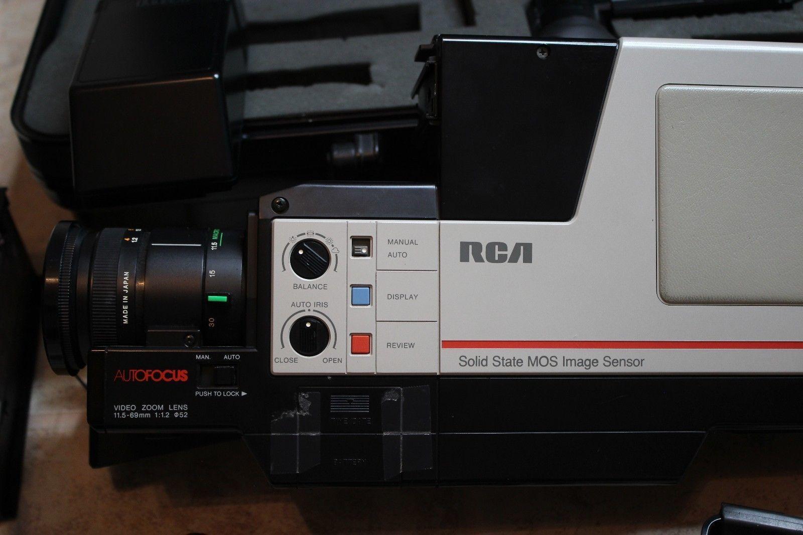 Vintage Rca Cmr300 Pro Wonder Auto Focus Vhs And 50 Similar Items