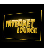 130008B Internet Lounge Cafe Access 24 Hours Service Display LED Light Sign - $18.00