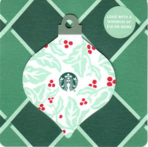 Starbucks 2018 Coffee Plant Ornament Collectible Gift Card New No Value - $4.99