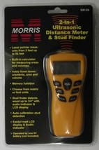 Morris 59120 Ultrasonic Distance Meter And Wood Stud Finder - $29.70