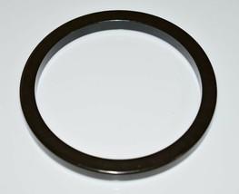 VTG Dark Army Green BAKELITE Tested Bangle Bracelet - $99.00