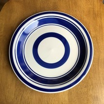 Royal Norfolk Dinner Plate White with Blue Bands Rings Replacement - $9.90