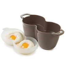 Progressive Microwave Perfect Two Egg Poacher - $14.58