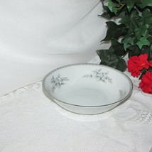 "MIKASA BONE CHINA ALICIA 9"" ROUND VEGETABLE SERVING BOWL 9359 BLUE FLOWE... - $16.51"