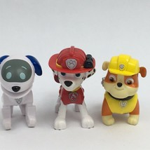 Paw Patrol Action Pups Lot Of 10 Figures Boo Dog Chase Rocky Rubble Mars... - $22.99