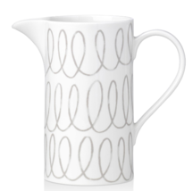Kate Spade Charlotte Street Gray Water Beverage Pitcher  - $67.82