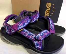 TEVA TERRA FI 4 Palopo Purple TRAIL HIKING SPORTS WATER SANDALS 7 WOMENS... - $69.99