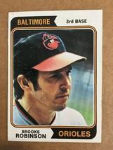 1974 Topps Brooks Robinson #160 Baseball Card Baltimore Orioles NM KV1 - $9.99